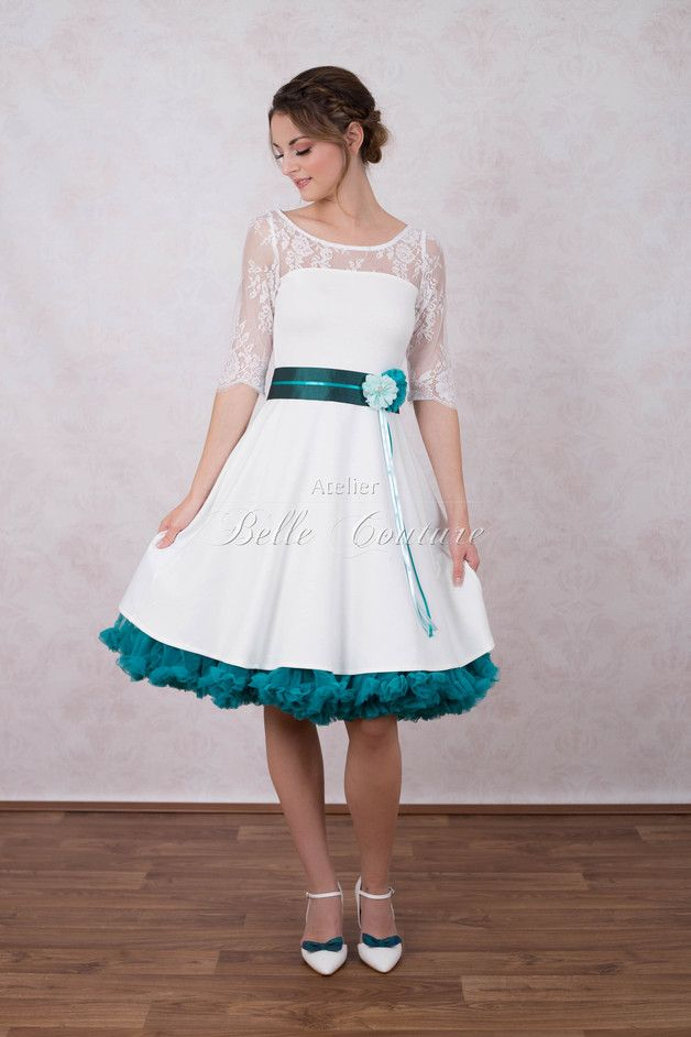 romantisches Brautkleid \