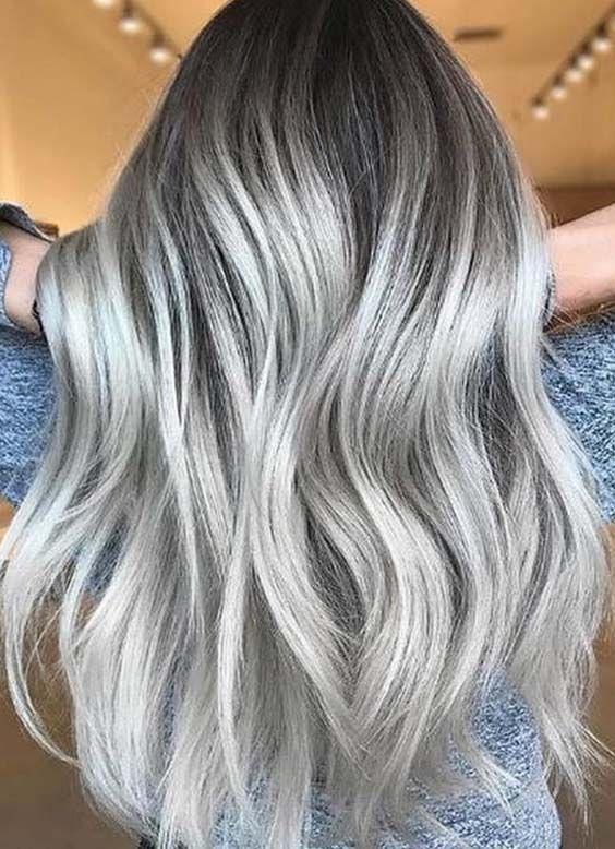 52 Charming Silver Ash Blonde Hair Color Ideas For 2018 Ash