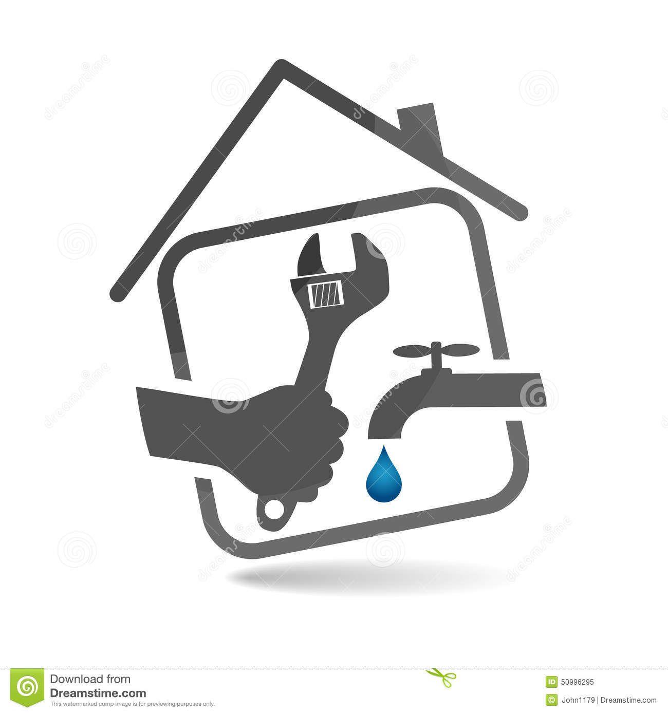 Plumbing Service Vector Stock Vector - Image: 50996295 ...