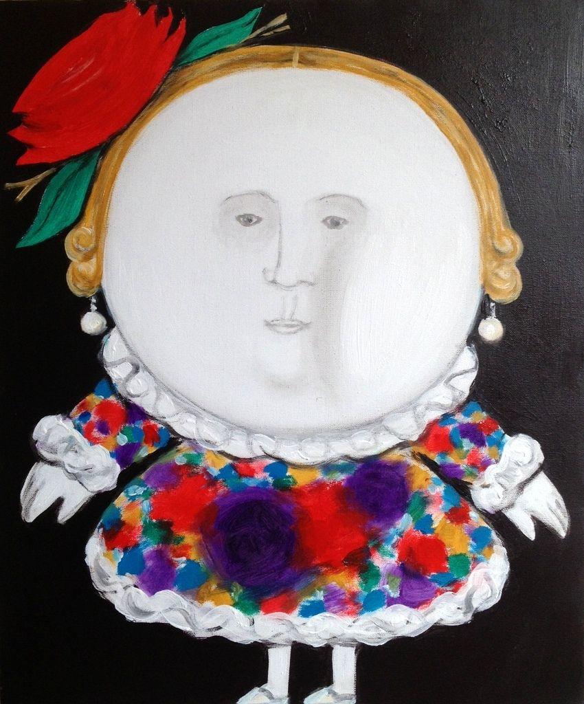 Malerei von Oleg Timchenko, Kunstreise nach Georgien