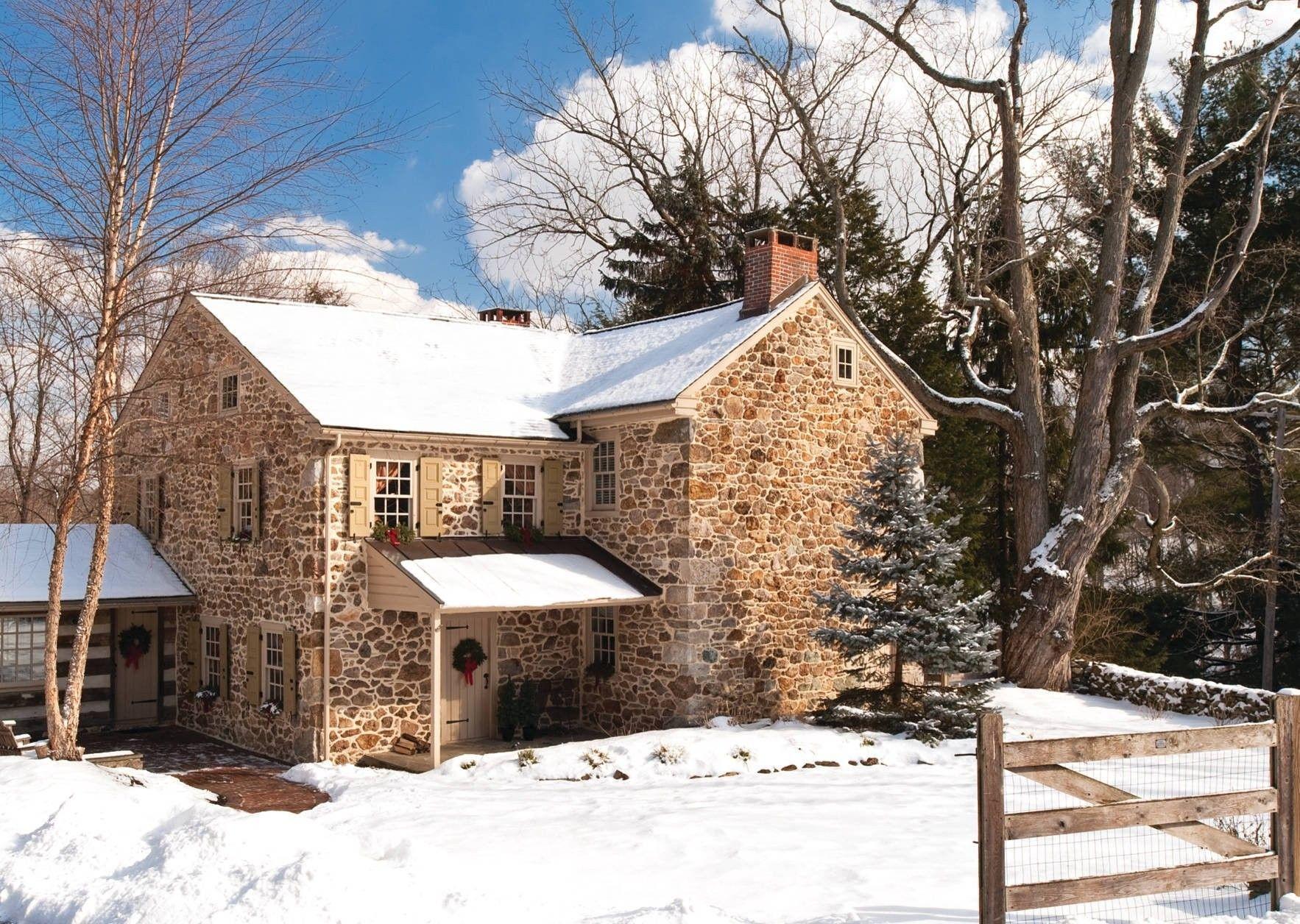 John Edwards House  Perfectly Cozy, Stone 1776