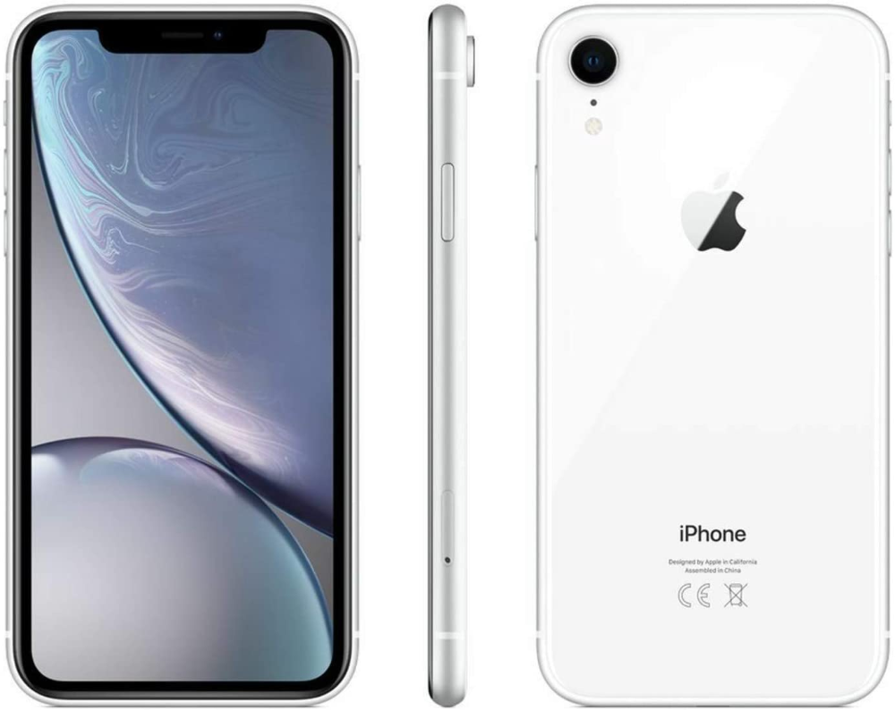 Apple Iphone Xr 64gb White Fully Unlocked Renewed Apple Iphone Boost Mobile Iphone