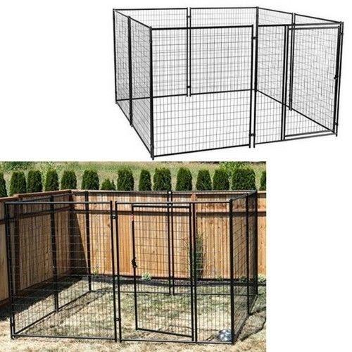 Modular Dog House Outdoor Kennel Playpen Pet Animals Dogs Puppy