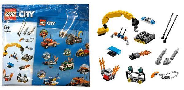 Calendrier Lego City.Sur Le Shop Lego Polybag 40303 Boost My City Offert Ghx