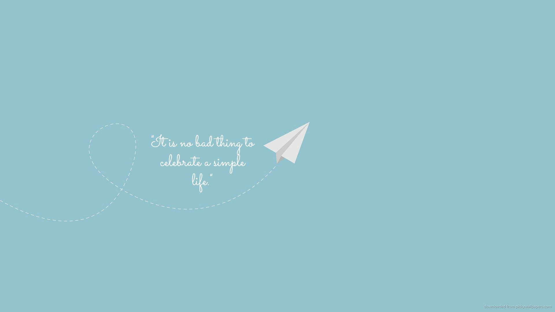 Celebrate Simplicity Inspirational Quotes Wallpapers