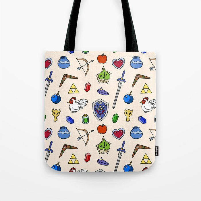 Zelda pattern Tote Bag Zelda pattern Tote Bag