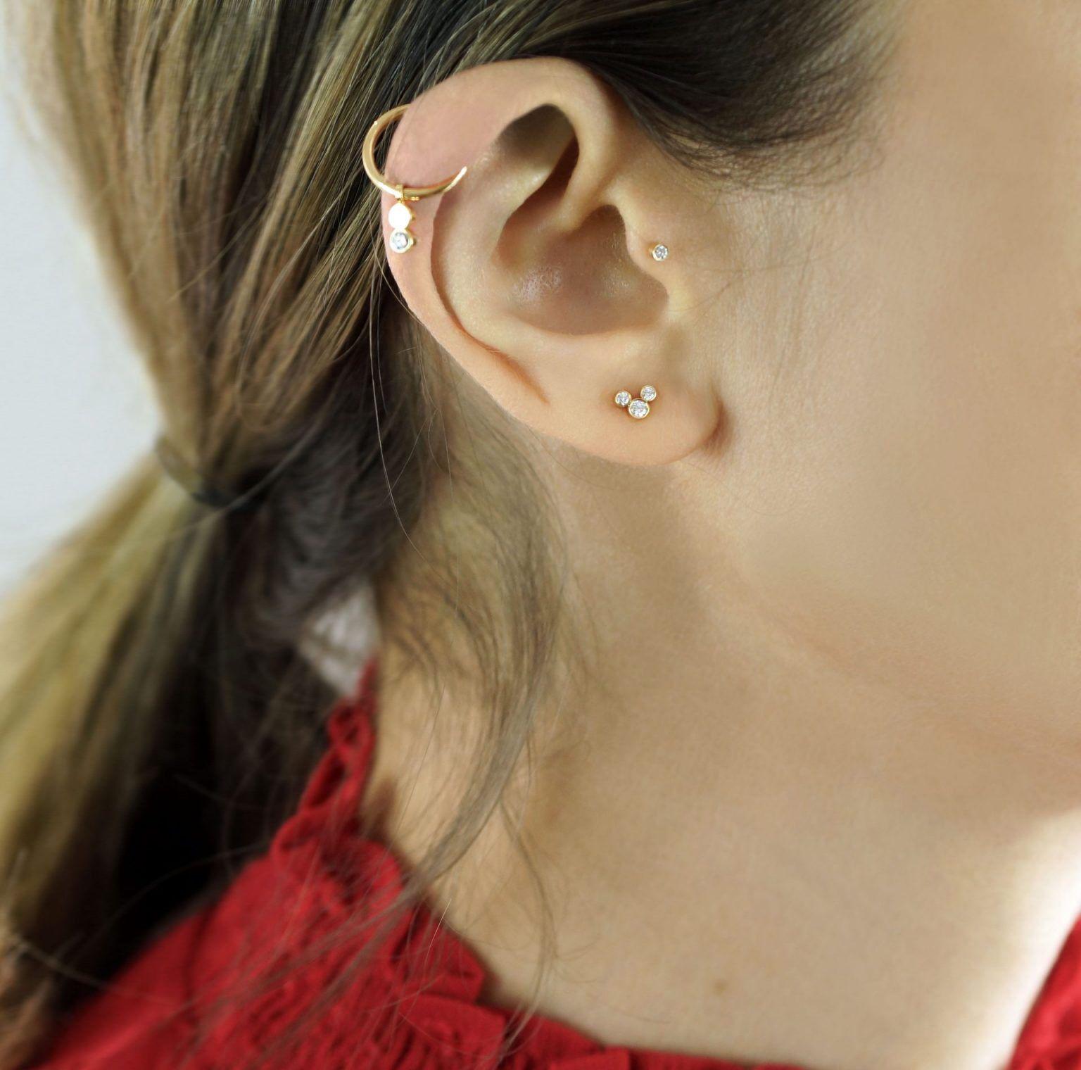 Luxury Piercing LENA COHEN in 2020 Ear piercings