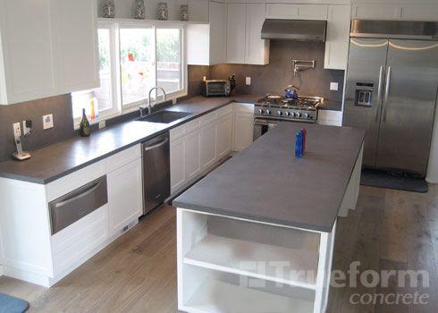 Best Concrete Countertop Modern Kitchen Classic Kitchen 400 x 300