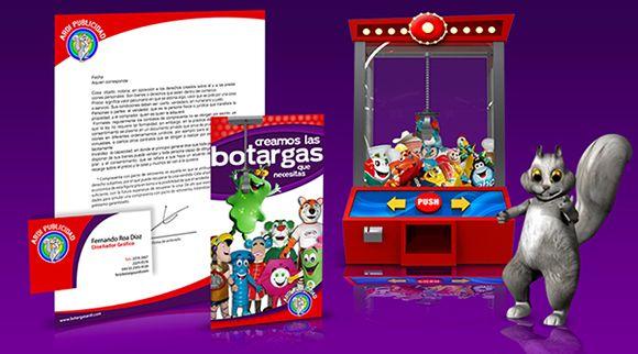 Botargas ardi   Objetivo: Presencia y proyección de la marca en Internet / Diseño Editorial.