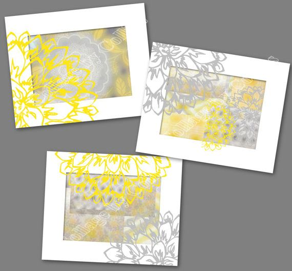 Peonies Peony Flower Gray Golden Yellow Wall Art Picture Photograph ...