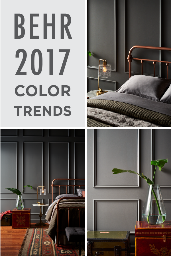 Add a chic and glamorous feel to your home by Behr color of the year 2017