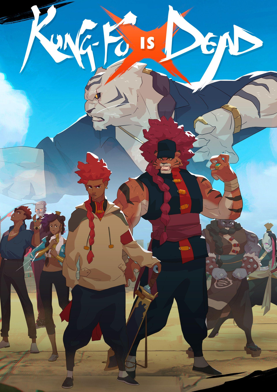 ArtStation Kung Fu is Dead Poster, Malcolm Wopé