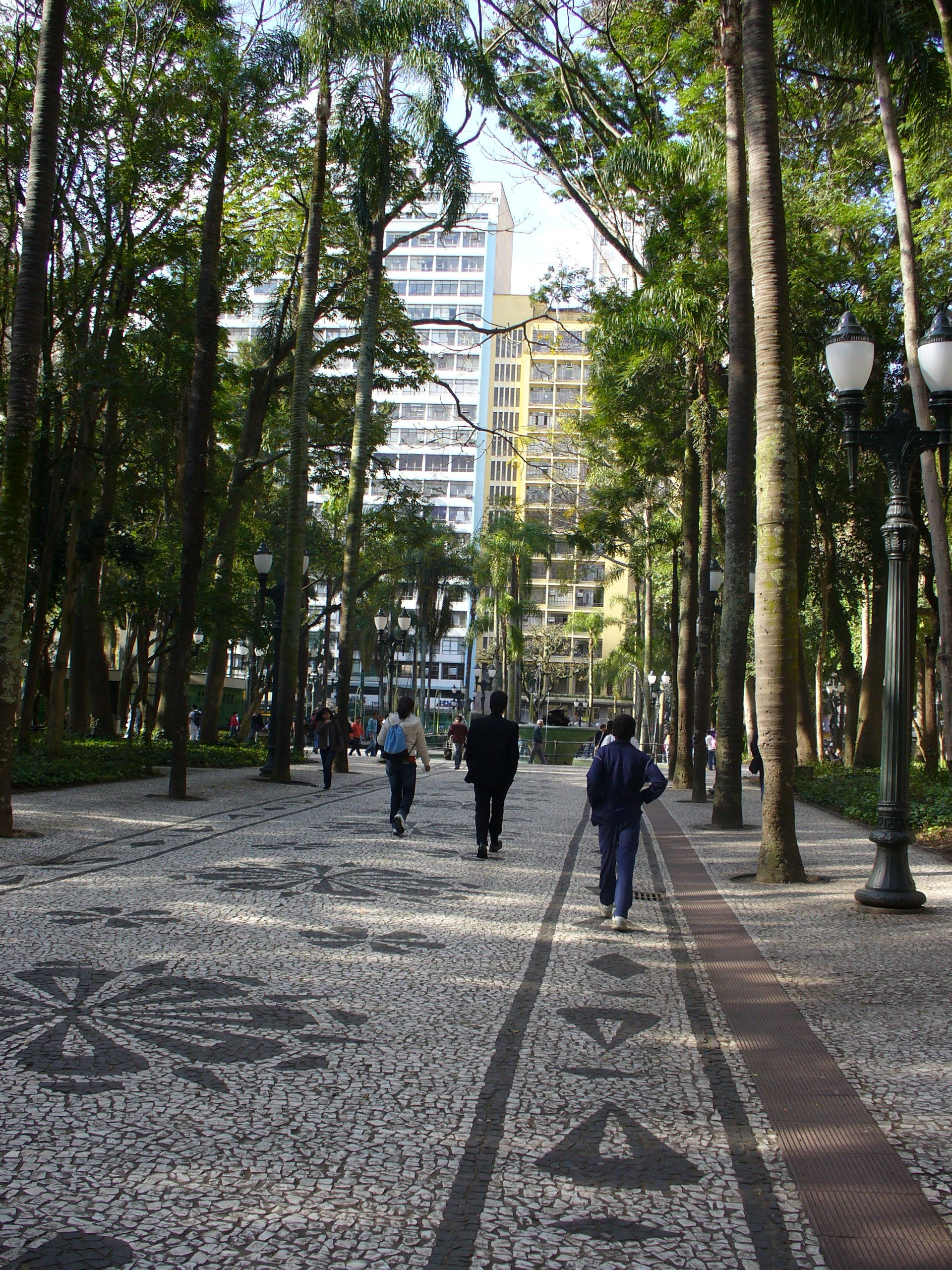 Uma rua de Curitiba, Paraná