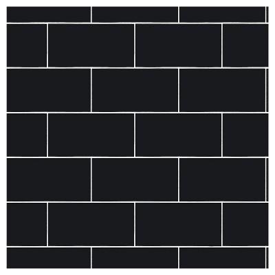 Devine Color Textured Subway Tile Peel Stick Wallpaper Black Black Textured Subway Textured Subway Tile Black Subway Tiles