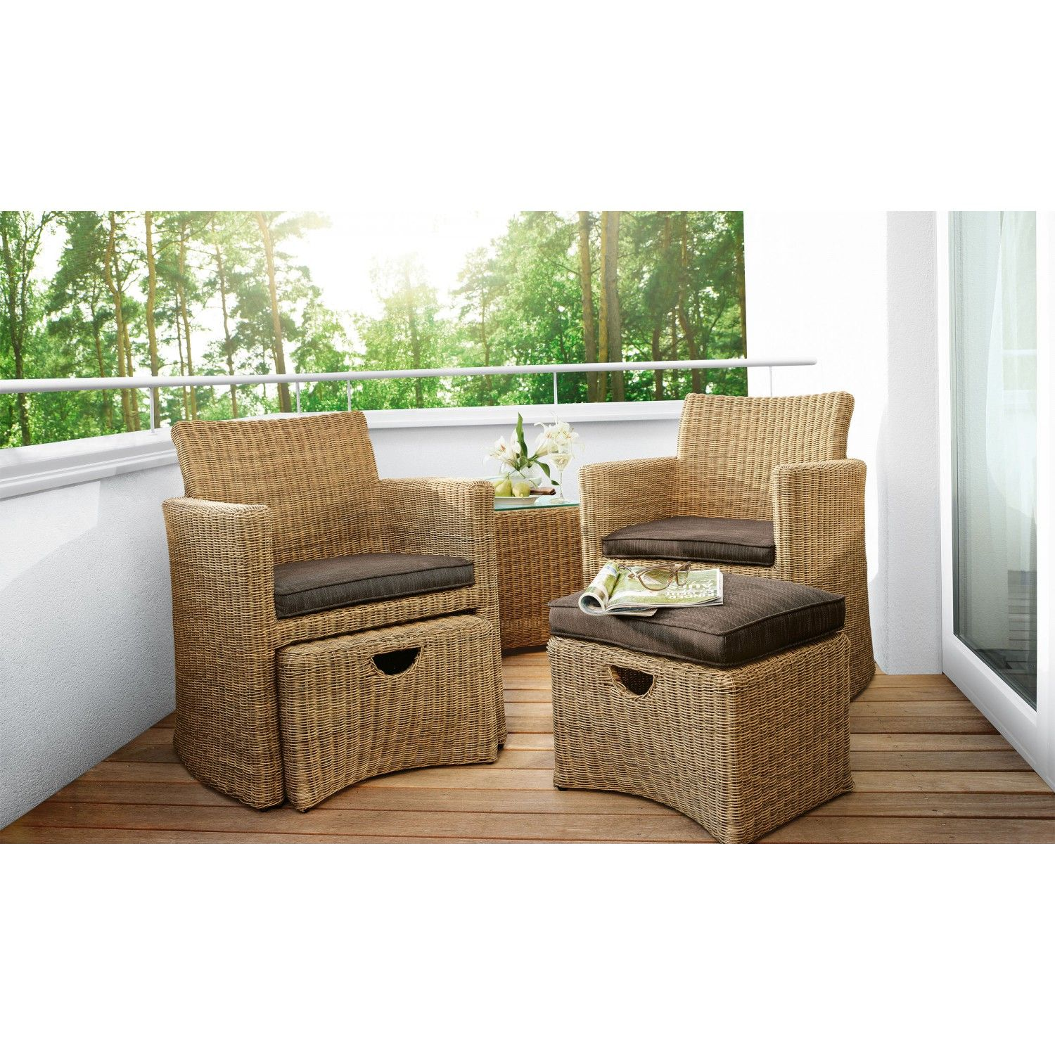 KETTLER HKS Sessel Set / Lounge Set CUPIDO Produktbild 1 | New home ...