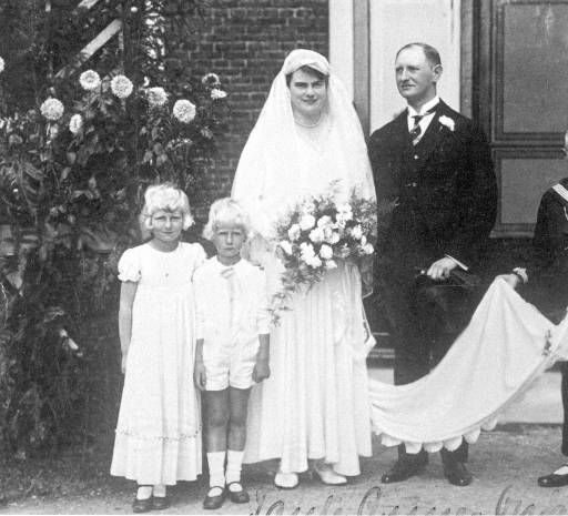 Jonge bruidspaar