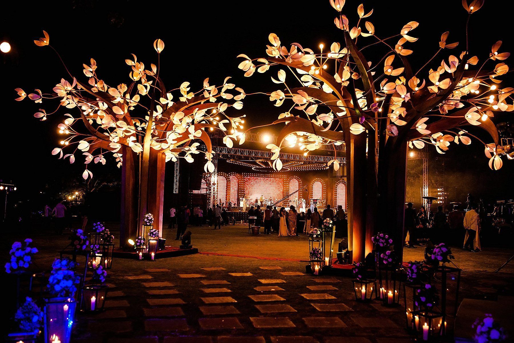 Rajasthani wedding stage decoration  Best contemporary Indian wedding photographer  Wedding Decors