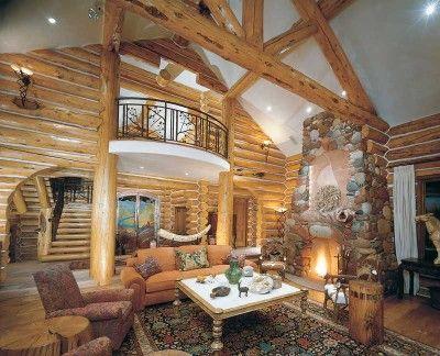 Cabin Decor Ideas | Cabin, Logs and Log cabins