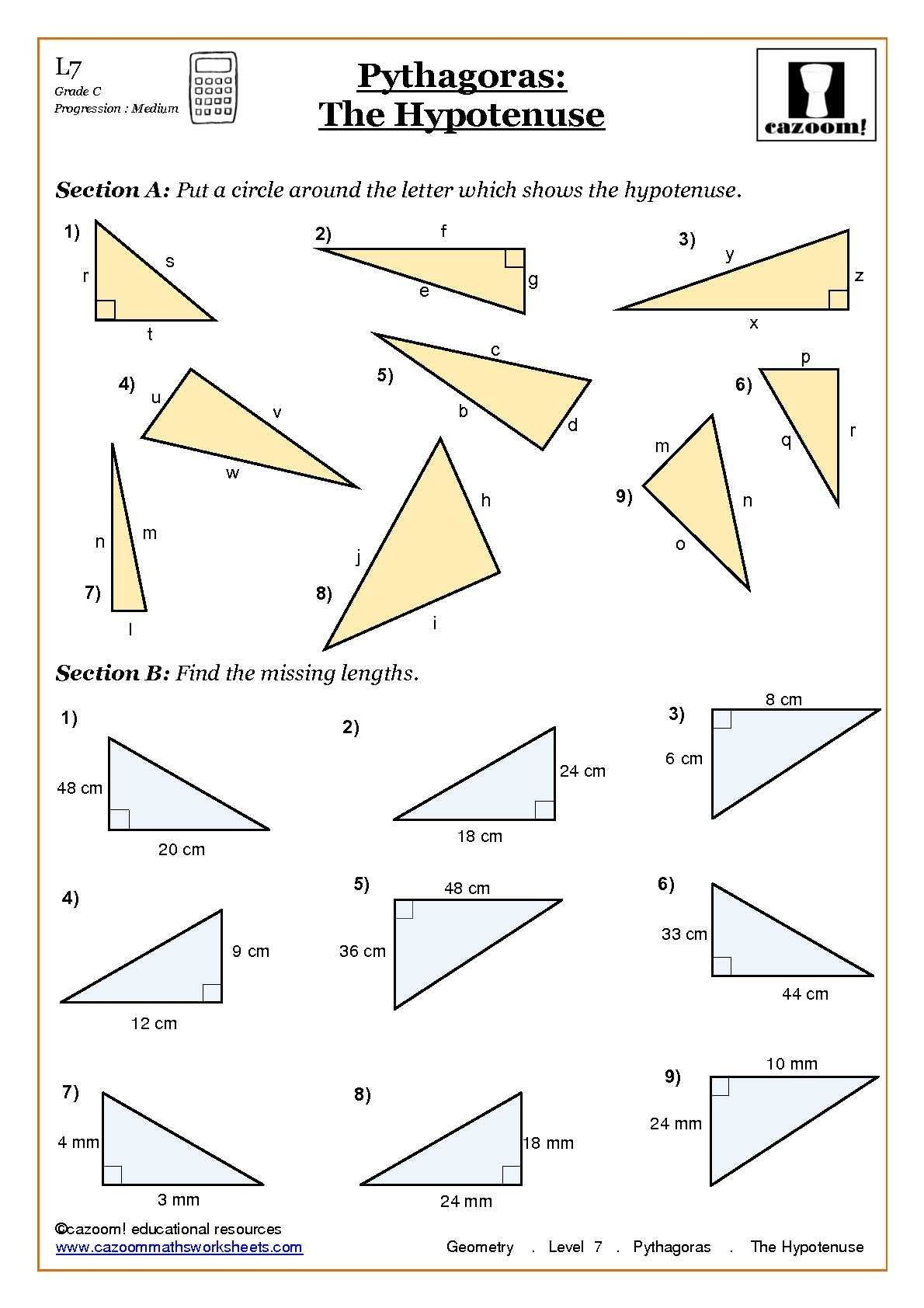 8 Memorable Trigonometry Ratios Worksheet Answers