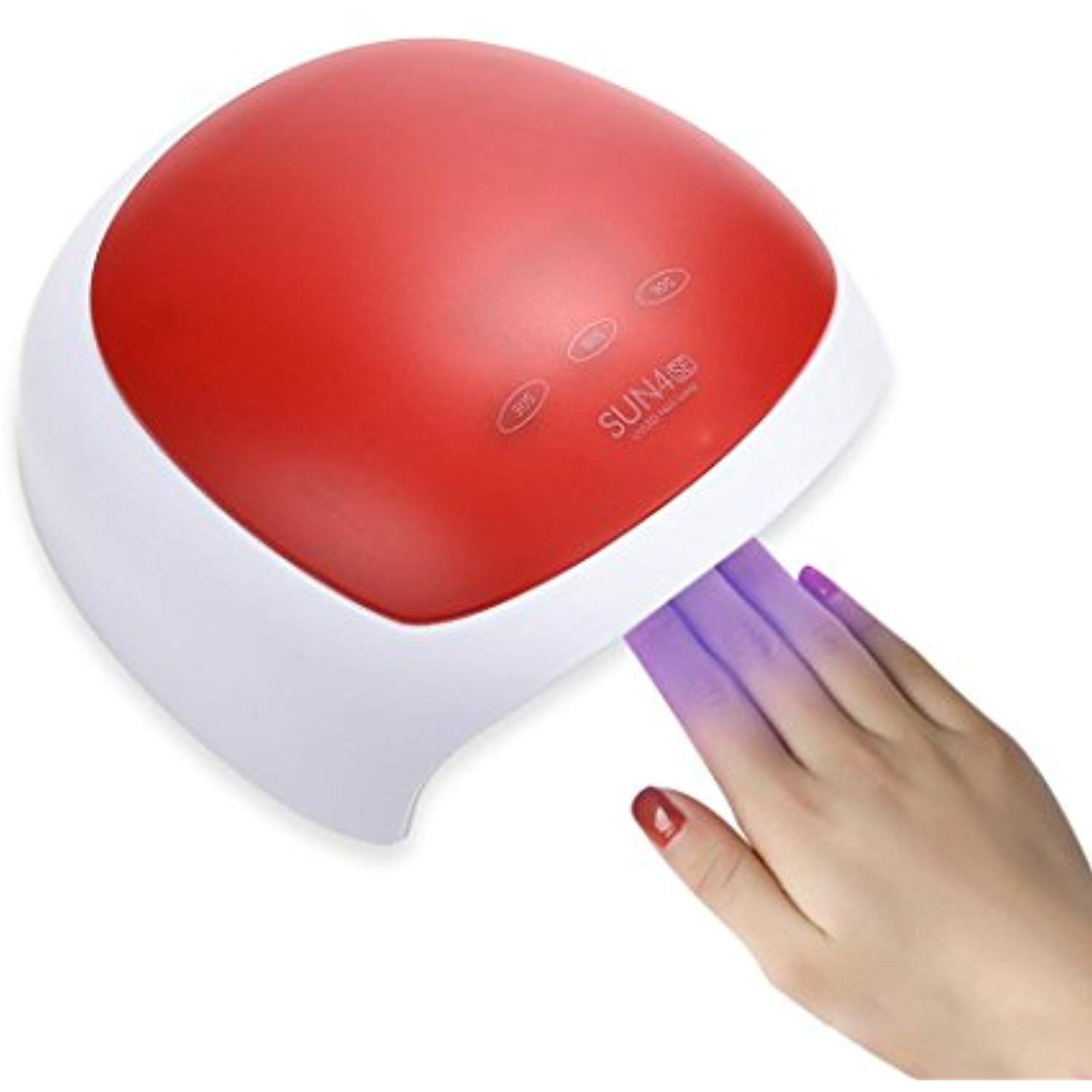 Nail Dryers For Gel And Regular Polish Electric Nail Dryer For Regular Polish Makeupstore 24w Led Drying Curing Machine Tool Machine Tools Uv Nails Nail Dryer