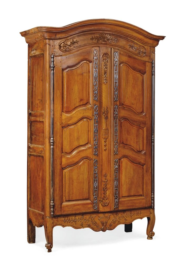 dining room armoire | A FRENCH PROVINCIAL WALNUT ARMOIRE - LATE 18TH CENTURY ...