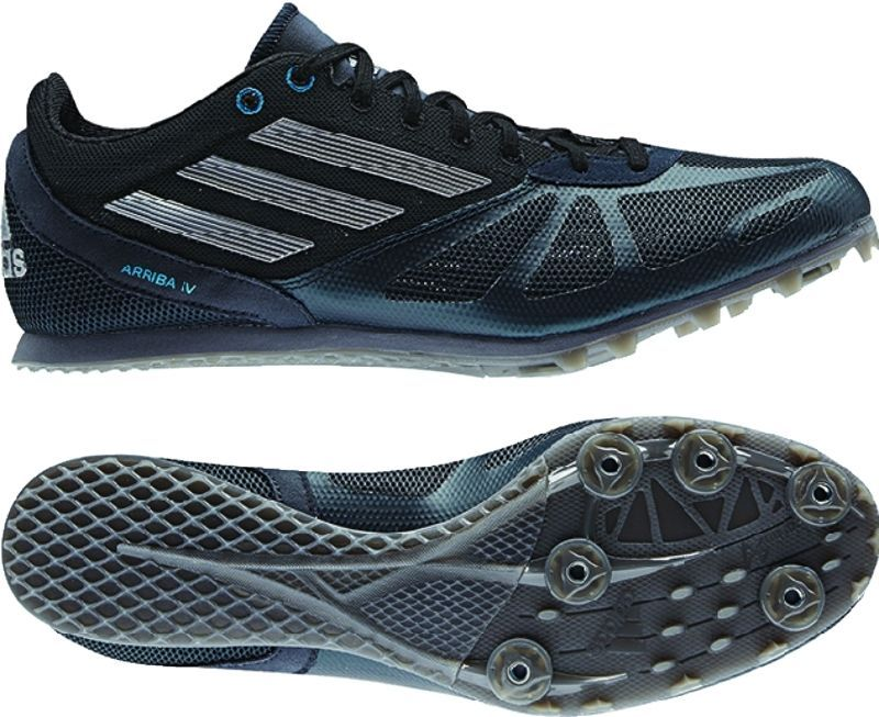 separation shoes cb59c eba81 Adidas Arriba IV M Mens Distance Track Spike Size 9 Black Adidas. Find  this Pin and more on Track  Field Spikes ...