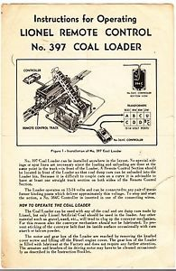 No 397 coal loader operating instructions lionel trains pinterest no 397 coal loader operating instructions cheapraybanclubmaster Gallery