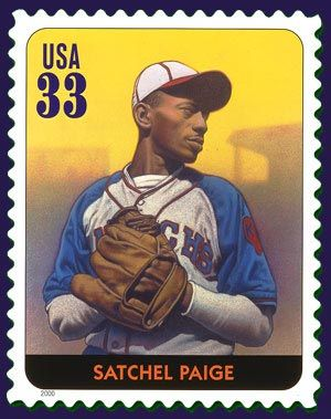 July 7, 1906, Satchel Paige, the pitching star of Negro League and major-league baseball, was born.