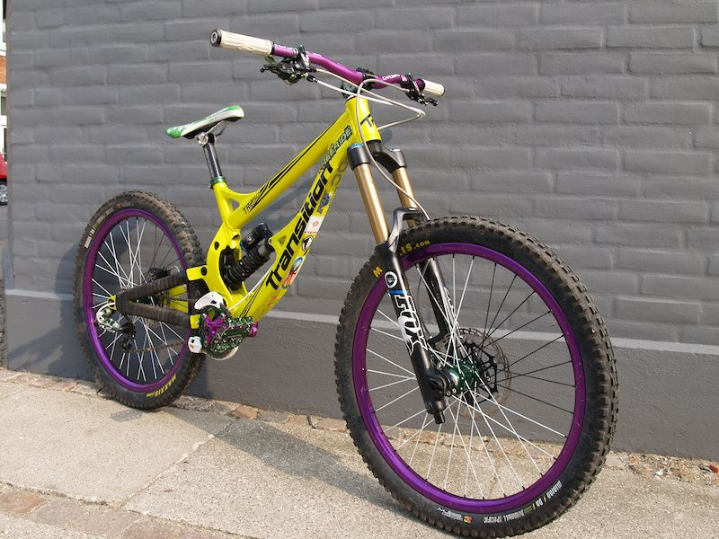 Sweet Transition Freeride Bike Bicycle Mountain Bike Freeride