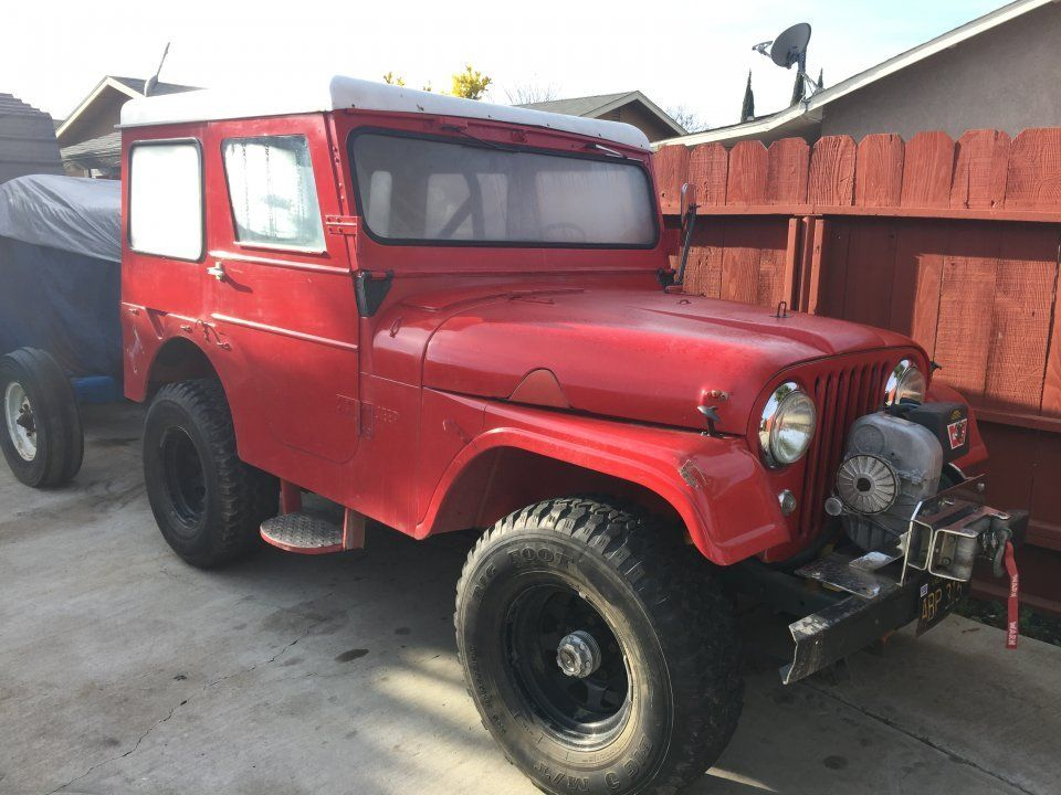 1958 Willys CJ-5 - Photo submitted by Roel Alfaro.