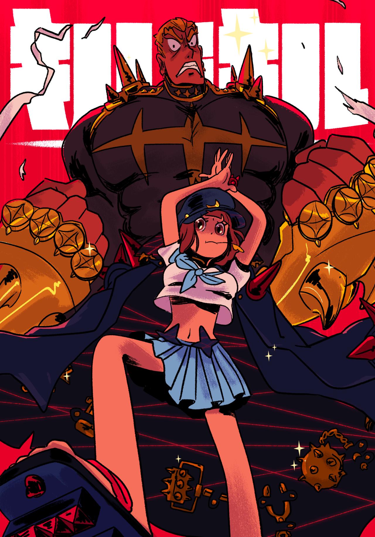 Klk Mako Gamagori Kill La Kill Art Kill La Kill Anime