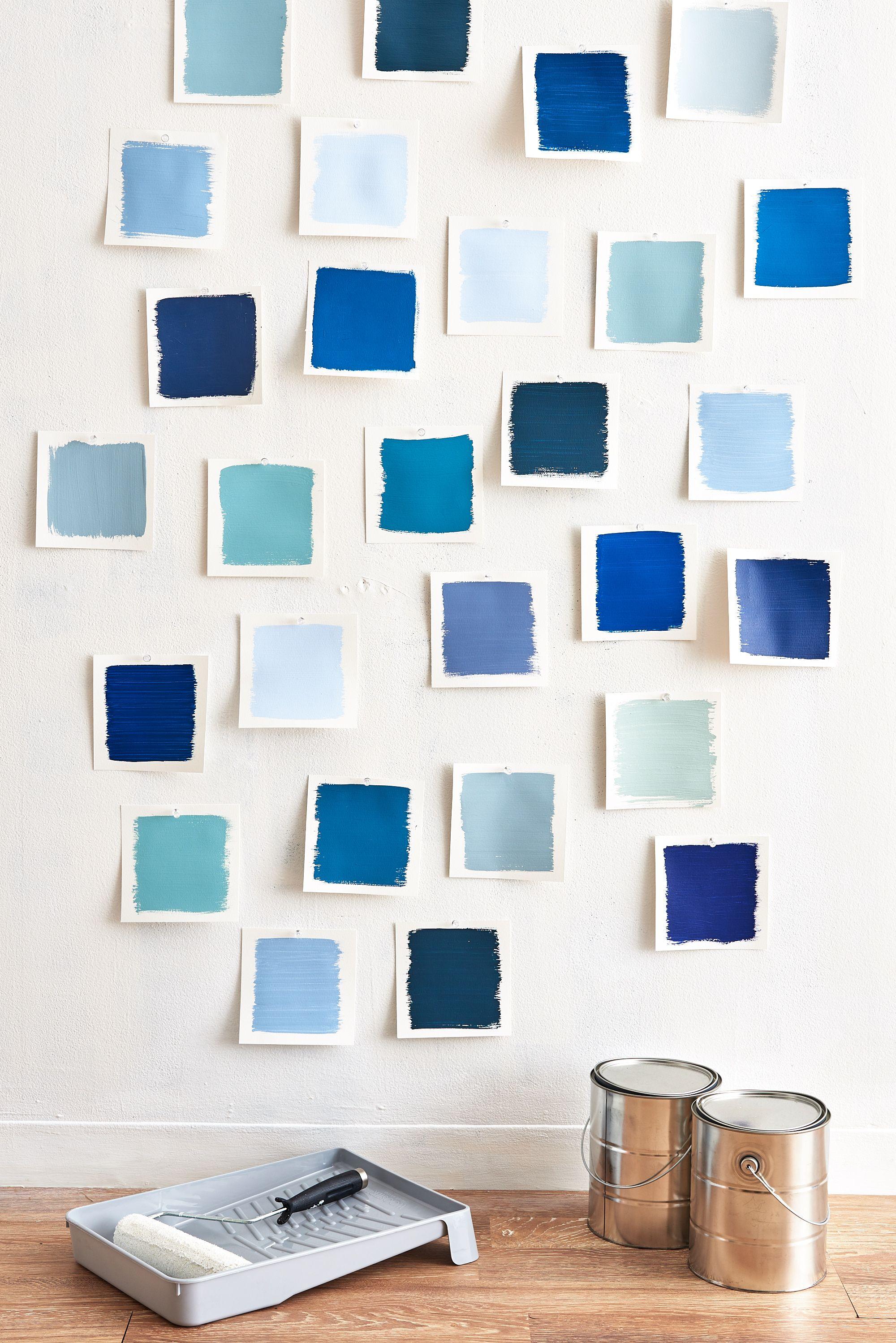 Color Cheat Sheet: The 21 Most Perfect Blue Paint Colors | Pinterest ...