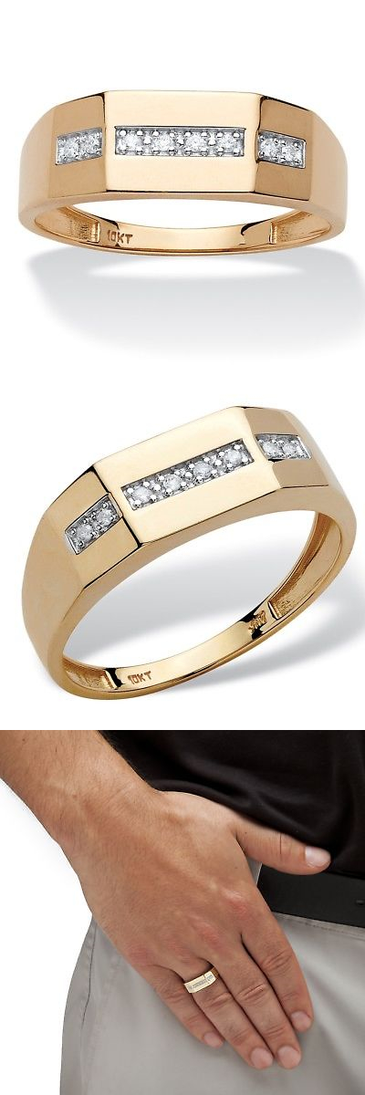 Rings Palmbeach Jewelry Men S 5 8 Tcw Diamond Wedding Band