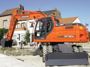 Daewoo Doosan Dx190w-3 Wheeled Excavator Service Catalogue Manual