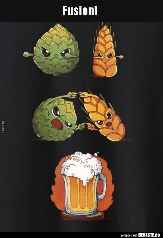 Fusion Lustige Bilder Spruche Witze Echt Bilder Echt Fusion Logo Lustige Spruche Witze Beer Art Beer Tattoos Beer Humor