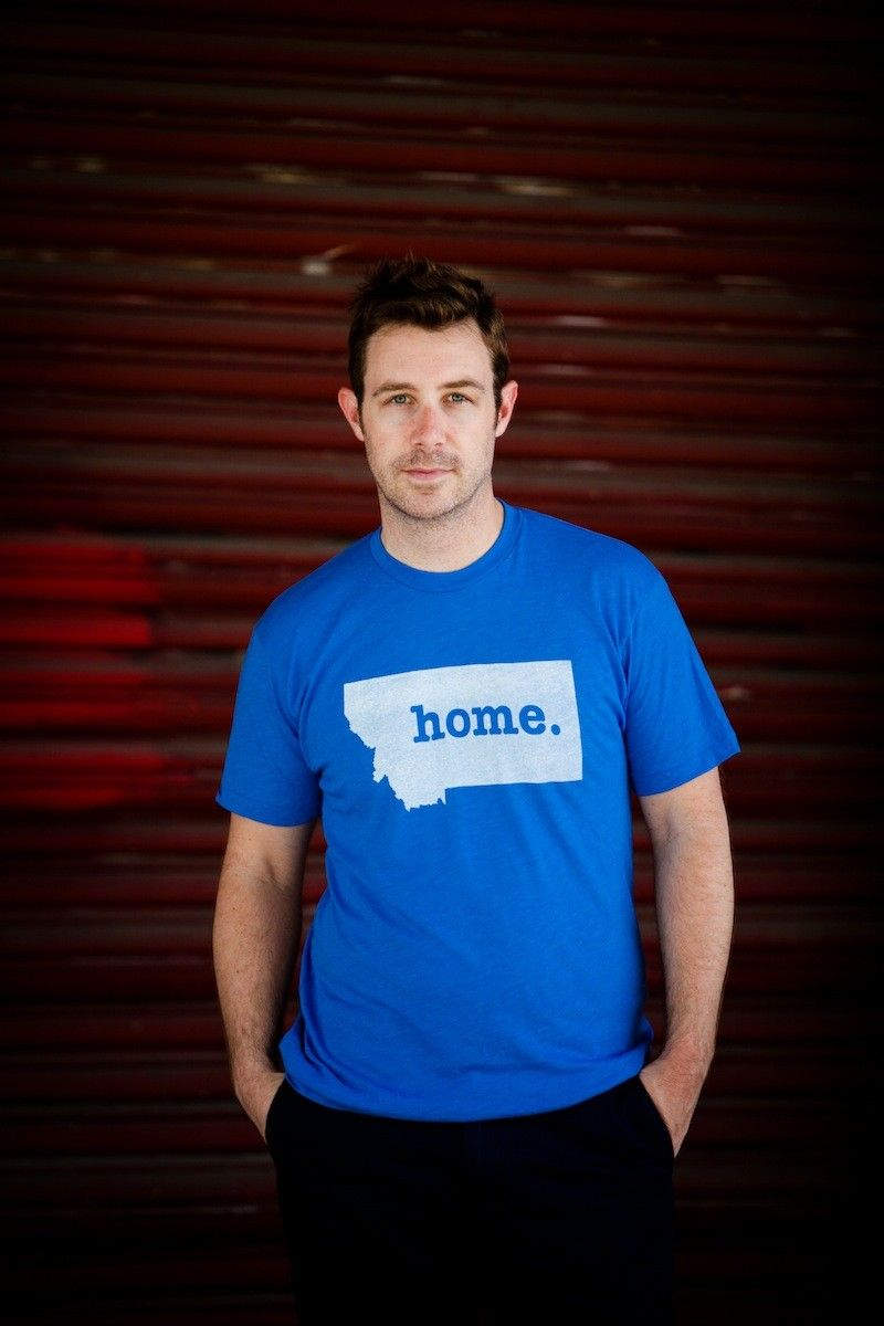 The Montana Home T-shirt. Portion of profits are donated to multiple sclerosis research. Get yours here, http://www.thehomet.com/montana-home-t-shirt/.