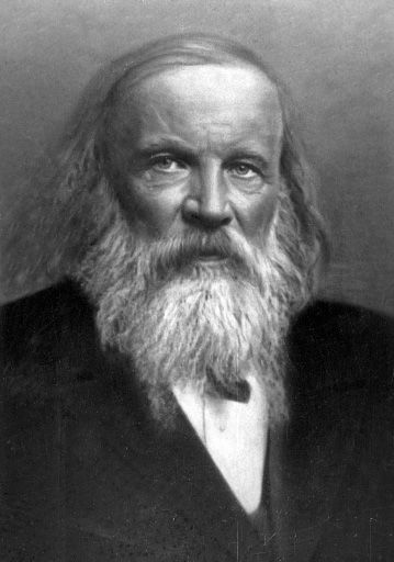 Dmitri mendeleev the man who made the periodic table complete with dmitri mendeleev the man who made the periodic table complete with spaces for elements that urtaz Choice Image