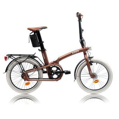 9 Adulto B'twin Bicicletas Plegable Ciclismo Tilt Copper Bicicleta Tl1FJcK
