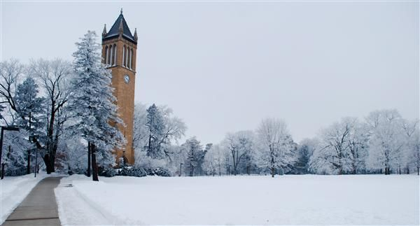 Iowa State University Campanile Iowa State University Campus