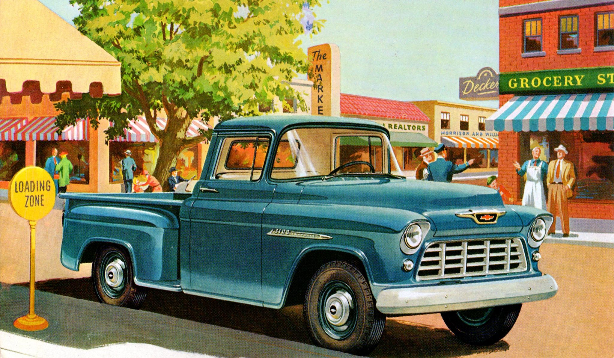 1955 Chevrolet Model 3104 Pickup With Images Vintage Chevy