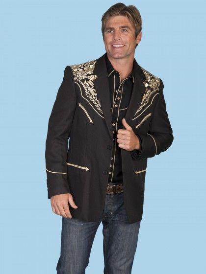 Western jacket, Mens western wear