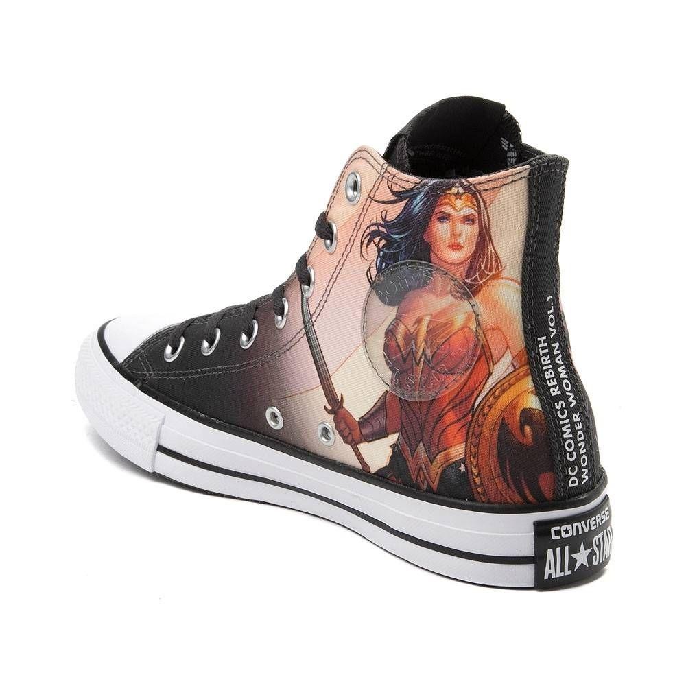 Converse Chuck Taylor All Star Hi DC Comics Wonder Woman Sneaker
