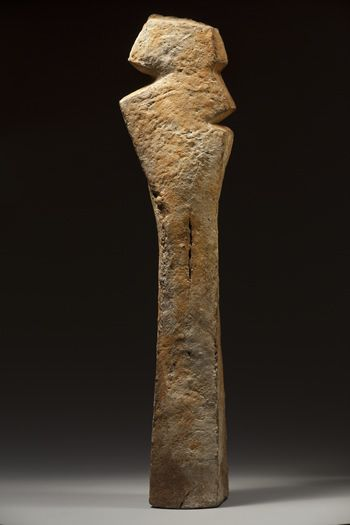 JACQUELINE LERATColonne incertaine, 2000, 80.5 x 20 cm - JL030