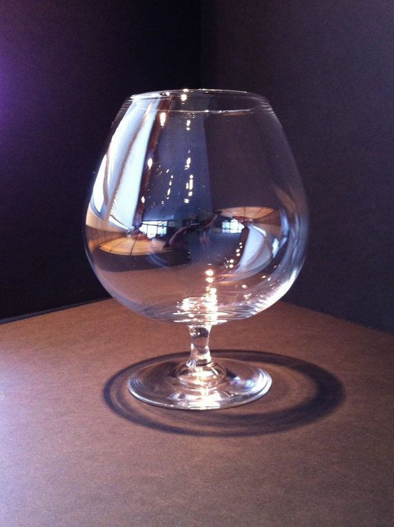 Captivating Vintage Steuben Century Brandy Cognac Glass By QuirkyAppeal, $125.00