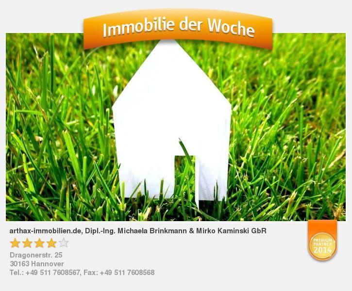 Zur Abwechslung mal eine Baulücke in Springe am Deister. - aufgenommen und gepinnt vom Immobilienmakler in Hannover: arthax-immobilien.de