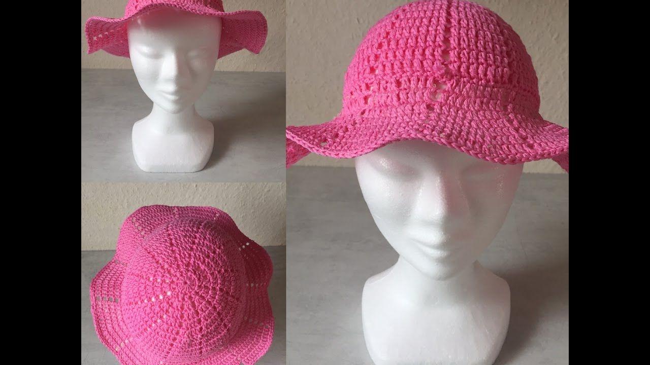 la meilleure attitude artisanat de qualité bien pas cher Tuto chapeau tout âge au crochet | ♡♥♡ chapeaux et ...