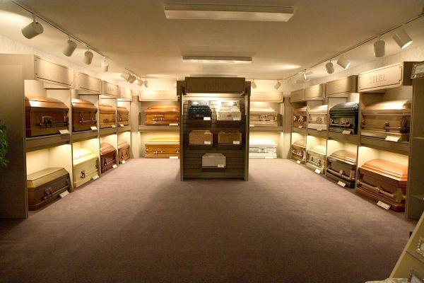 Casket Display | Wood Funeral Home | Idaho Falls, ID