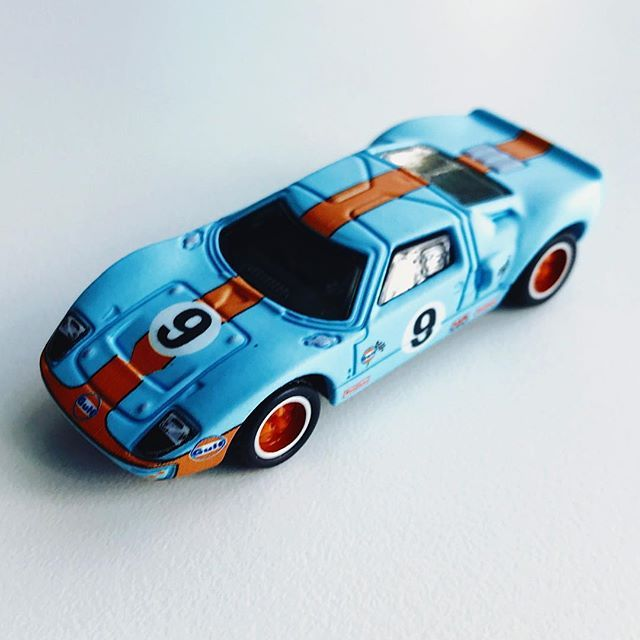 Gulf Racing Ford Gt 40 Matchbox Mbx Gulfracing Fordgt40 Fordgt Custom Hot Wheels Ford Gt Old American Cars