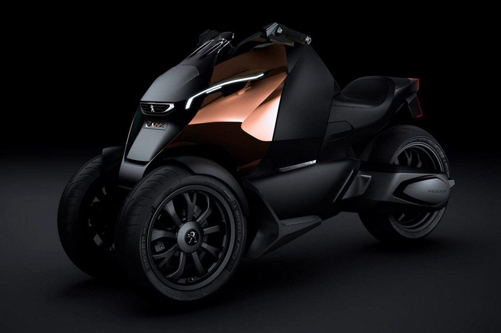 The Peugeot Onyx Concept Scooter Is Set To Join The Hybrid Powered Peugeot  Onyx Supercar Concept At The French Manufactureru0027s Stand At The 2012 Paris  Motor ...