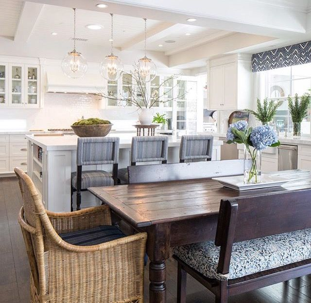 pin by betsy miller on kitchen dining dining room layout casual dining rooms open dining room on boho chic dining room kitchen dining tables id=92017